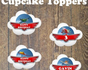 Disneys Planes Cupcake Cake Topper Party decoration