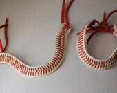 Baseball Seam Bracelet