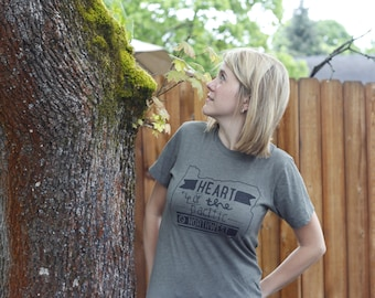 Oregon Heart of the Pacific Northwest Shirt