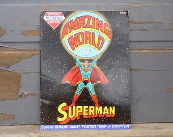Superman, Superman Poster, Comic Book, DC Comics, Comics, Books, Superman Gift, Poster, Metropolis, Comic Con, Graphic Novel, Justice League