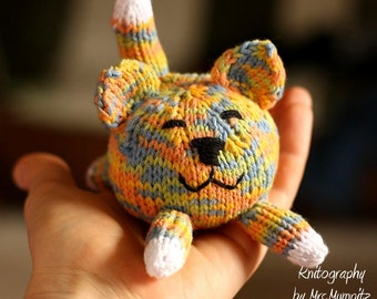 Cat and Dog knitting pattern PDF pattern instant download, pattern suitable for beginners