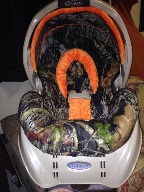 Custom Camo Infant Car Seat Cover For Graco