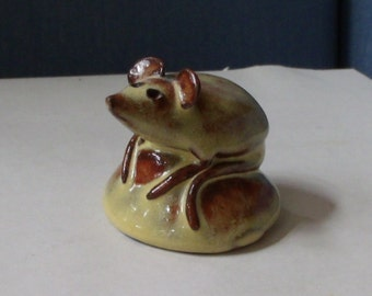 Mouse Sculpture Pottery