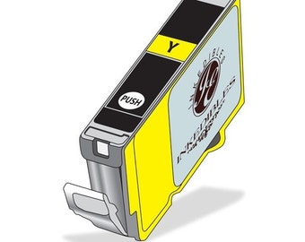 Inkedibles Edible Ink Cartridge for Canon CLI-221Y (Yellow)