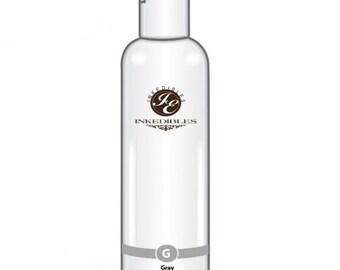100ml Inkedibles Edible Ink Refill Bottle for Canon (Gray 3.5 oz)