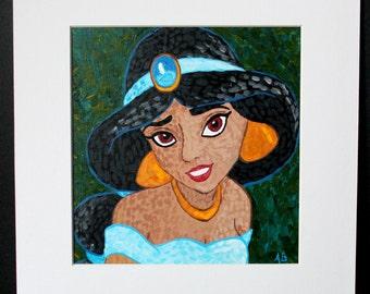 Princess Jasmine painting