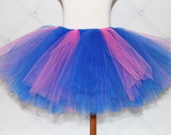 TUTU SKIRT...Blue & Pink Tutu Skirt...Newborn Tutu...Baby Tutu...Toddler Tutu...Cakesmash Tutu...Birthday Tutu...Summer Dress