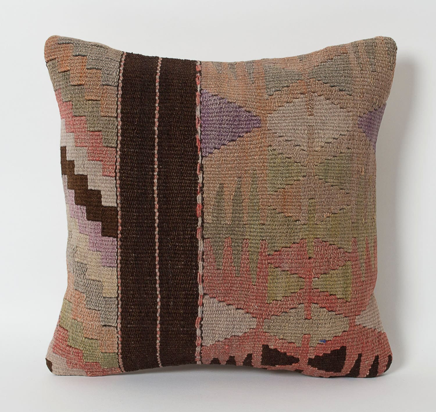 Vintage Kilim Pillows Decorative Throw Boho Kilim Cushion