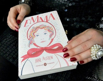 Book Clutch Purse - Emma by Jane Austen