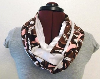 SALE* Hostess Cupcakes & Satin Infinity Scarf