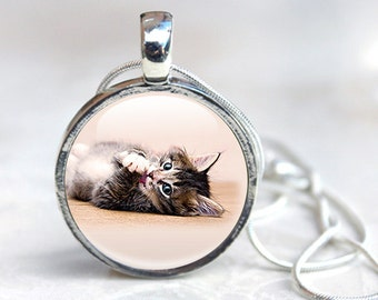 Cat Necklaces - Cat Jewelry Necklace - Cat Pendant Necklace (jewelry 9)