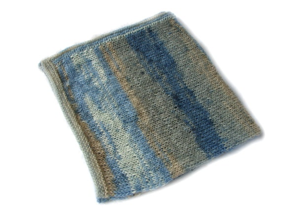 Baby boy blanket soft mohair knitted blanket baby by TinyOrchids