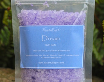 Aromatherapy Bath Salts -  Dream