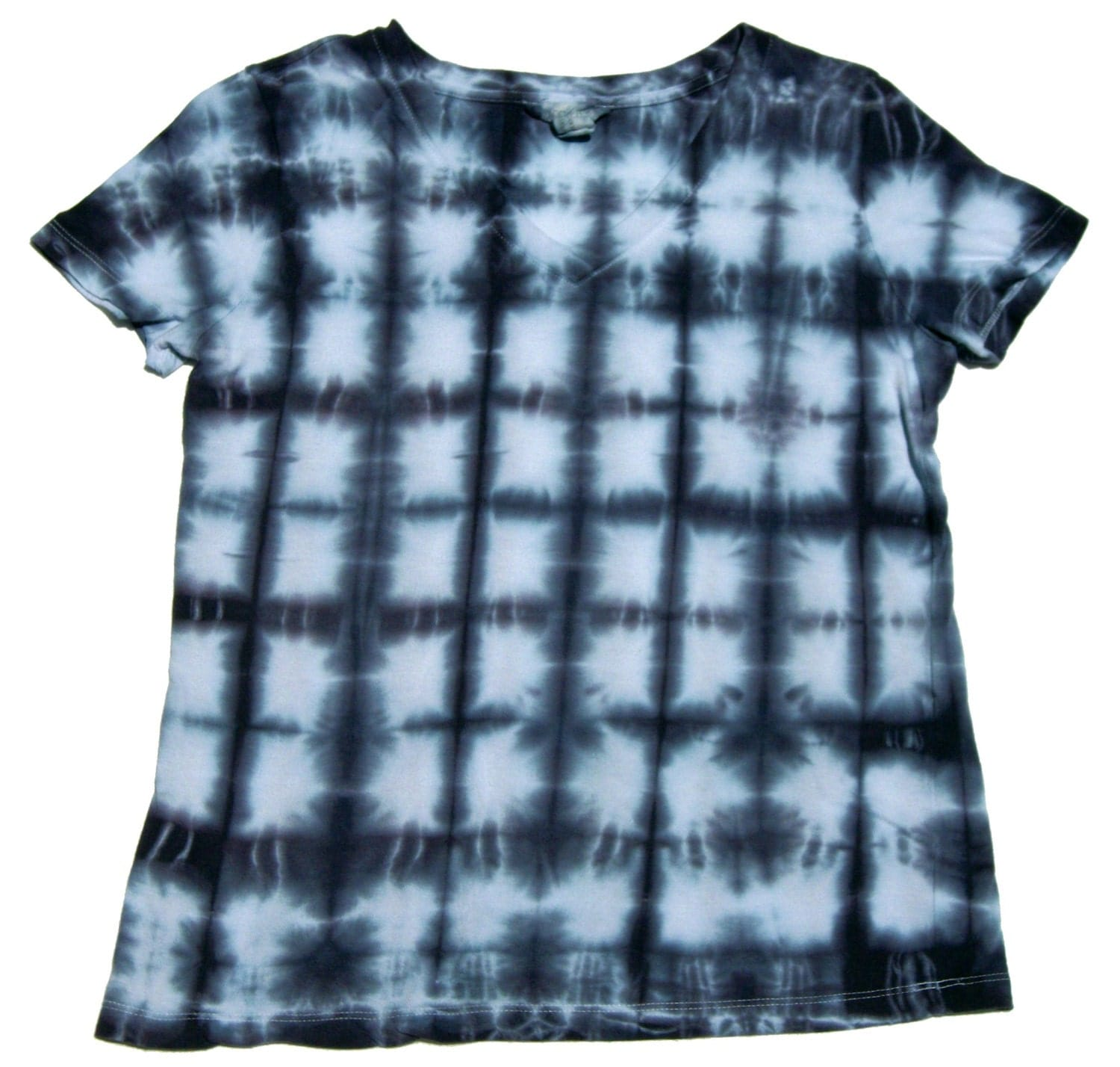 Tie dye shibori t shirt short sleeve women 39 s by for Nike tie dye shirt and shorts