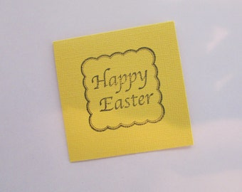 Happy Easter Mini Card, Happy Easter Card, Easter Greeting Card, Easter Mini Card, Blank Easter Card, Blank Mini Card, Easter Mini Gift Card