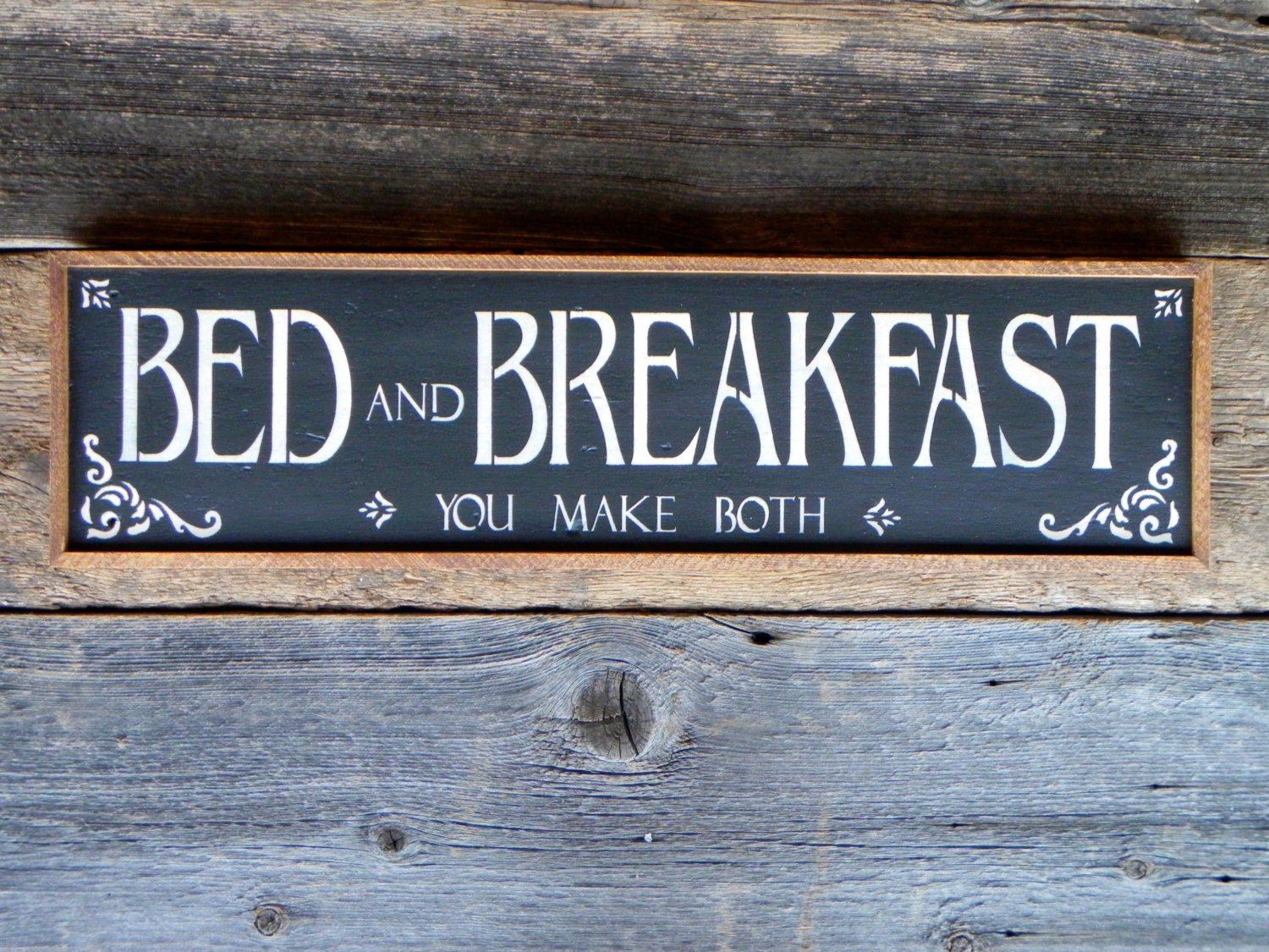 Custom Bed And Breakfast Sign