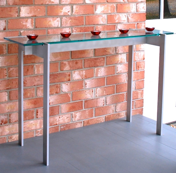 Hall table 16 x 42 x 30 high with 12 for 12 x 30 table
