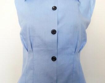 Blue 1940's Shirt