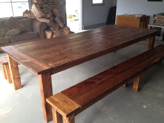 Dining Table Farmhouse Table Large Table Reclaimed Wood