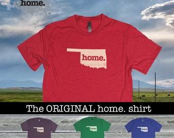 Oklahoma Home shirt Men's/Unisex