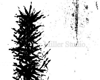 Abstract  Art Black and White print of Original Acrylic 8x10 11x17  Modern