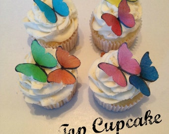 Rainbow Edible Butterflies