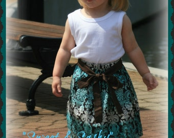 """Our """"Sweet & Sashy"""" skirts for baby and toddler  from Keepers at Home"""