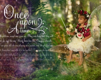 Once Upon a Time Mega Magical Fantasy Digital photography Overlay PSD File and PNGs