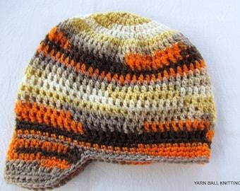 Newsboy Crocheted children newsboy cap,Children's Newsboy Hat, Newsboy Cap Children' Hat, Knit Newsboy Hat, Knit Hat Children