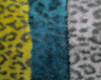 "0,5 m Fake fur trim ""Crazy Leo"" 50 mm Polyester"