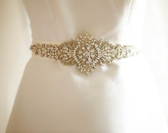 Bridal sashes and belts - Stars ( Made to order )