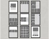 Easy Album - 8.5x11 Digital Scrapbooking Templates