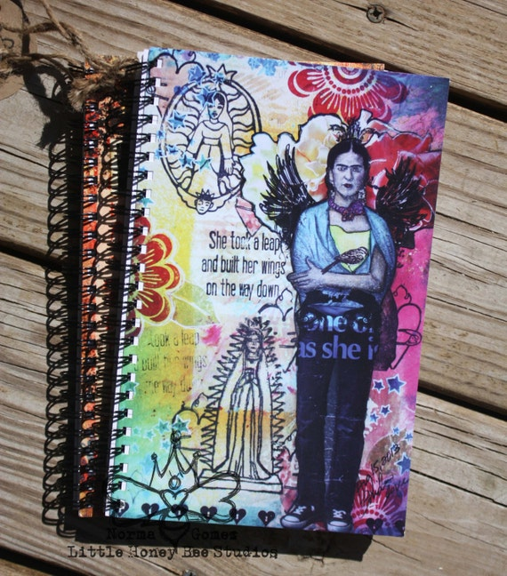 SALE: Frida Kahlo Spiral Notebook