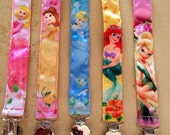 Disney Princess Pacifier/Toy Clips - you pick your favorite!