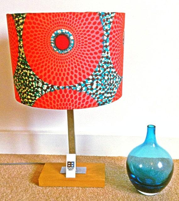 Gyasi handmade African print lampshade - 30 cm