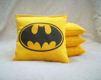Set of 4 Batman ACA Regulation Cornhole Bags