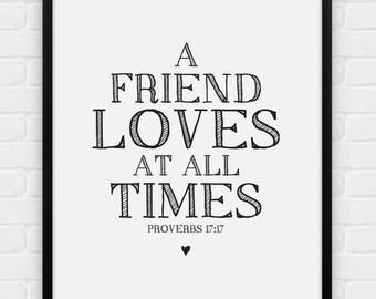 Friends love   Etsy