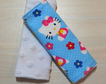 Car Seat Strap Covers - Hello Kitty
