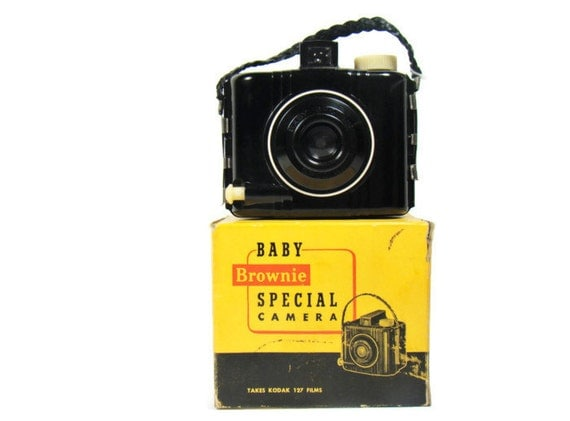 how to open a baby brownie special camera