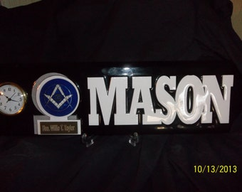 MASON Spirit trophy clock with FREE engraving and shipping