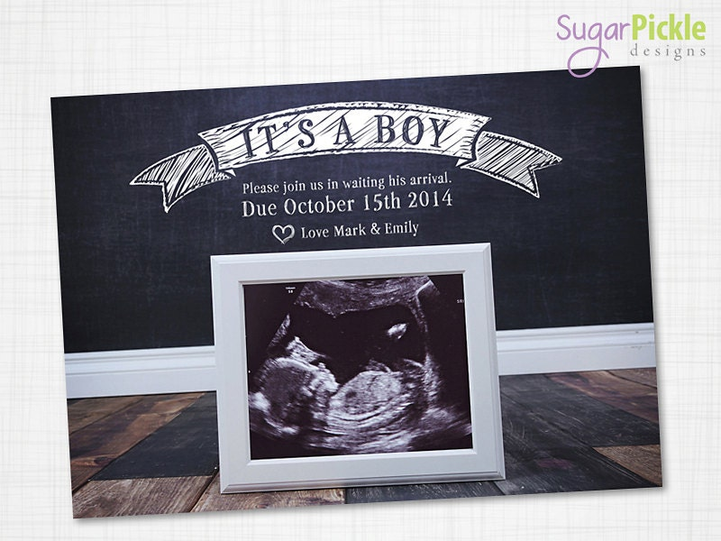This is a photo of Witty Free Printable Pregnancy Announcement Cards