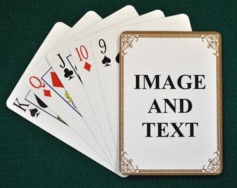 Custom Photo Wedding Playing Cards Personalized Deck Of Cards Vintage Playing Cards For Wedding