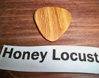 Honey Locust Wood Guitar Pick