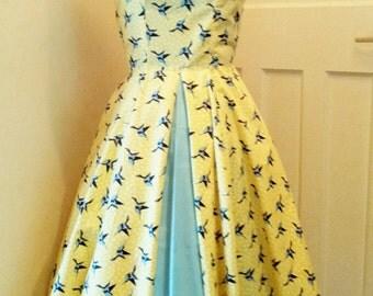 AnneMarie 1950's shelf bust dress
