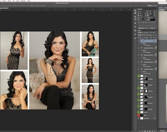 Photoshop Photo Collages - Pack of 6