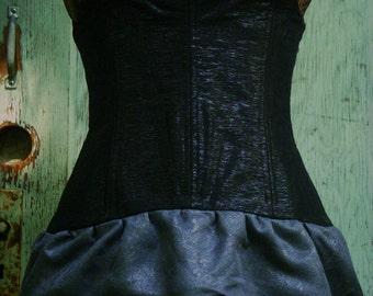 Corset - Steampunk Corset - Victorian Corset - Underbust Corset - Festival Clothing