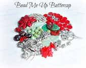 Red & Turquoise Daisy Inspiration Pack