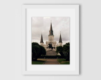 St Louis Cathedral Original Print | New Orleans Photography | Home Decor | Home & Office | Gift Under 30