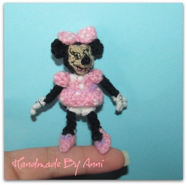 Minnie Mouse Amigurumi Crochet Pattern : Minnie mouse Disney Amigurumi crochet minnie mouse handmade
