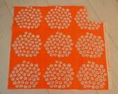 Marimekko Puketti Scandinavian retro fabric, design Annika 1972